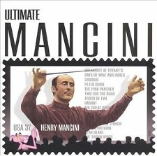 ~BACK ART MISSING~ Henry Mancini, Monica Mancini CD Ultimate Mancini