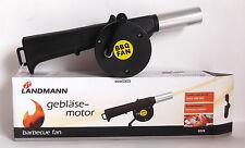 Landmann Handbetriebenes Grillgebläse 0226 , Gebläsemotor, Handgebläse