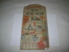 OLD PLASTIC & TIN TOY BY  MAR TOYS  MADE IN USA BAZOOKA PINBALL TYPE