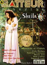 Batteur Magazine N°93 - Sheila E - Septembre 1996