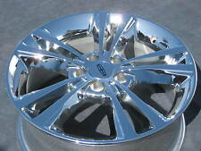 "SINGLE NEW 18"" FACTORY LINCOLN MKS MKZ MKX FORD TAURUS MKT OEM CHROME WHEEL RIM"