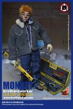 """Brothersfree x Hot Toys Monkey Brothersworker Color Version 12"""" Figure In Stock"""
