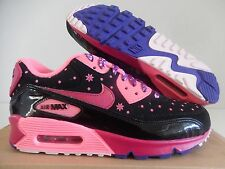 NIKE AIR MAX 90 LE DB DOERNBECHER BLACK-FIREBERRY-PINK SZ 7.5 [578101-066]