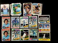 1976-1984 Vintage Kansas City Royals 68 Card Lot~ HOFERS/STARS~ George Brett++