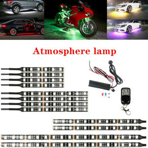 Car ATV One Tow Twelve Chassis Atmosphere Lamp Bar RGB Decorative Universal
