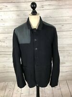 ALLSAINTS COMBINE Blazer - 44R - Black - Great Condition - Mens