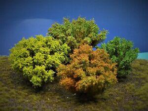Diorama Zubehör, 1 Modellbaum- Busch-Gruppe, 12 - 16  cm hoch