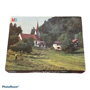 MB York Vorarlberg Austria 1500 Piece Jigsaw Puzzle Milton Bradley (Brand New)