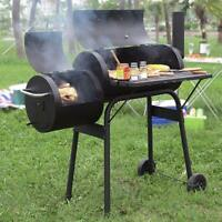 BBQ Pit Home Backyard Meat Grill Outdoor Charcoal Cooker Barbecue Patio