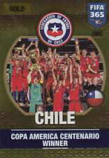 Panini Adrenalyn Fifa 365 2017 -  Chile Copa America  Nr. 45  Gold