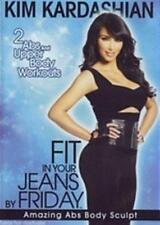 KIM KARDASHIAN Fit In Your Jeans By Friday: Amazing Abs Body Sculpt DVD NEW
