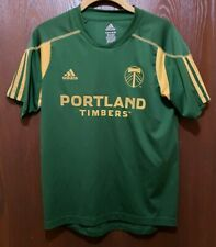 Adidas Green MLS Portland Timbers Soccer   Jersey Youth Large 14-16