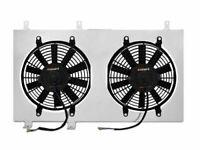 """Mishimoto Aluminum Radiator Fan Shroud Kit *12/"""" Fans* 99-03 Mazda Miata NB"""
