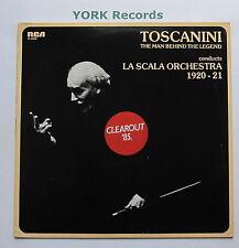 VL 46024 - ARTURO TOSCANINI - Conducts La Scala Orchestra '20-'21 - Ex LP Record