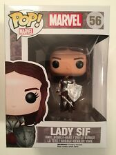 FUNKO POP MARVEL THOR LADY SIF #56 RETIRED VAULTED MINT VHTF R2S