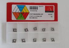 carbide inserts CCGT 060204FN-25P H210T CERATIZIT NEW-10pcs.