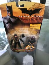 Dc Batman Begins Ninja Bruce To Batman Mattel Action Figure Crease Card