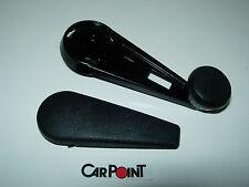 Fensterkurbel schwarz links rechts Porsche 911 65-83 91154247101 90154248220