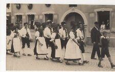 Schwardzwaelder Trachtenfest Wolfach Baden Germany 1929 RP Postcard 259a