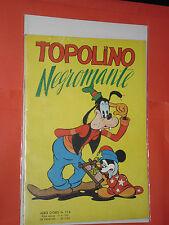 ALBO D'ORO TOPOLINO n° 116-A-DEL 1953-LIRE 50-NEGROMANTE -mondadori-disney