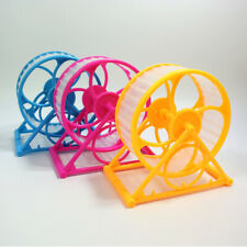 Wheel Running Jogging Exercise Plastic Scroll Hamster Mouse Rat Gerbil Pet Toy