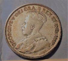 CANADA  COIN 25  CENTS 1927 VF