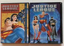 Lot Of 2 DVDs Justice League Season One 26 Episodes On Four Discs DC Classics