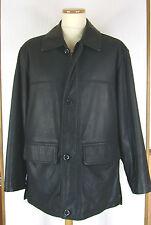 Veste homme en cuir nubuck noir MC PERCY taille 50/52.