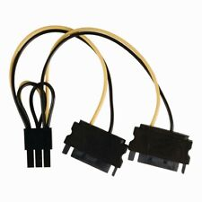 Nedis Câble D'alimentation interne 2x SATA Mâle À 15 broches - PCI Express feme