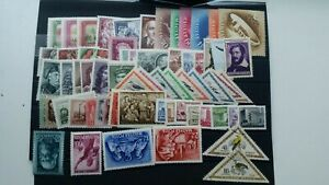 Hungary 1952  complete   MNH( 4 stamps MH/ 2 stamps used) Cat E 150