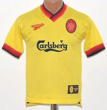 LIVERPOOL ENGLAND 1997/1998/1999 AWAY FOOTBALL SHIRT JERSEY REEBOK KIDS