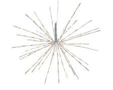 LED Polestar 45cm White Warm White Outdoor Hanging Christmas Star Decoration