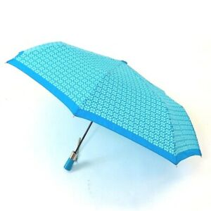 Coach Signature Mini Sky C Print Auto Umbrella NWT