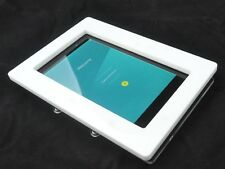 Nexus 7 2012 White Acrylic Wall Mount Kit for Kiosk, POS, Store, Show Display