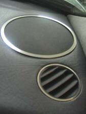 D Audi 80 90 B4 Chrom Ringe für Lautsprecher und Lüftung - Edelstahl poliert