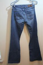 "Lucky Brand ""Sofia Boot"" Bootcut Jeans Womens Size 4 W27  Distressed"