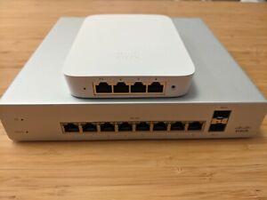 Cisco Meraki MS220-8P POE Switch + MR30H Access Point