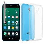 Accesorios Funda Carcasa Gel Ultrafina para Meizu M2 Note/ Azul Charm Nota 2