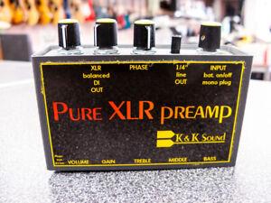 K&K Sound Pure XLR Preamp