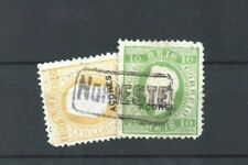 Açores Portugal Azores Nordeste nominative cancellation pair of Adjoining stamps