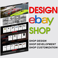 Custom eBay Store Shop Html Listing Template Design Service 2020 Compliant Https