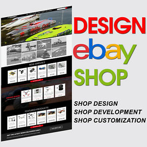 Custom eBay Store Shop Html Listing Template Design Service 2021 Compliant Https