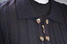 St John Collection Women's 2 Piece Blazer Size 8 Tank Top Sz Medium Black Career