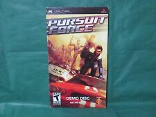 Pursuit Force (Sony PSP, 2006) *Demo Disc*