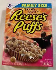 4 Boxes travis scott reeses puffs cereal