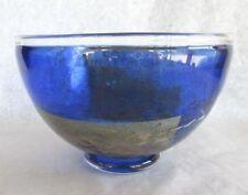 Kosta Boda Swedish Art Glass Bowl - Satellite Bertil Vallien - Signed - 1960s