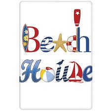 Beach House Decorative Kitchen FlourSack Towel-By Mary Lake Thompson