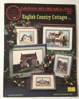 ENGLISH COUNTRY COTTAGES ~ 6 Designs Cross Stitch Chart Cross My Heart #CSB-66