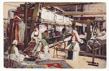 uralte AK Bosnien Teppichweberinnen Feldpost 1914 //25