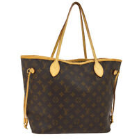 LOUIS VUITTON NEVERFULL MM SHOULDER TOTE BAG MONOGRAM M40995 SA1039 A49387